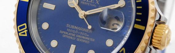 Rolex Submariner 16613 mit Box und Papieren aus 2007