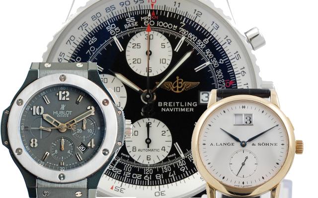 Uhren die Wir ankaufen