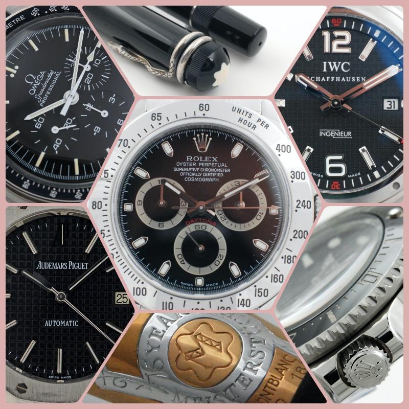Uhren Ankauf Collage